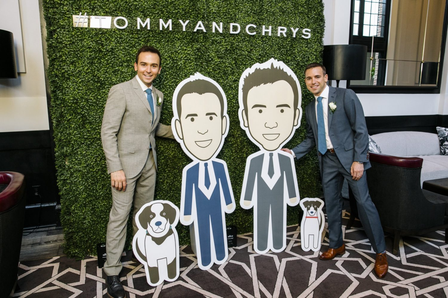 The Nationals' 'Racing President' Teddy Made a Cameo at Morning Radio Host Tommy McFly's Baltimore Wedding