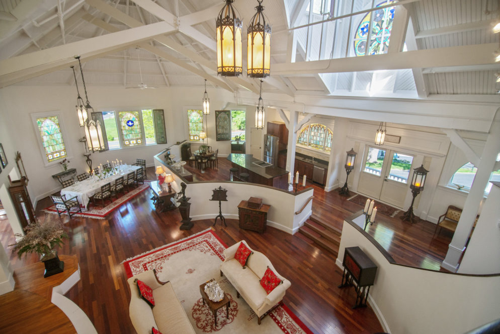 Check Out This Historic Chapel-Turned-House in Silver Spring Now For Sale