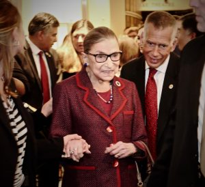 Ruth Bader Ginsburg Gets a Rock Star's Welcome at DC Premiere of Documentary