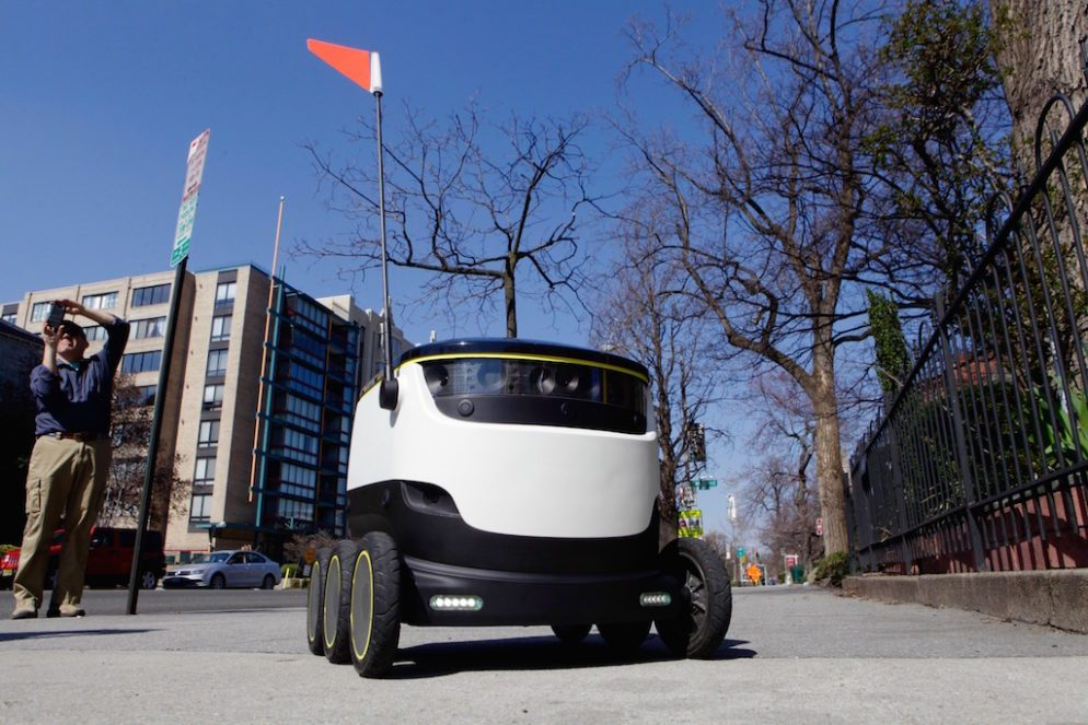 More Delivery Robots Are Coming to DC