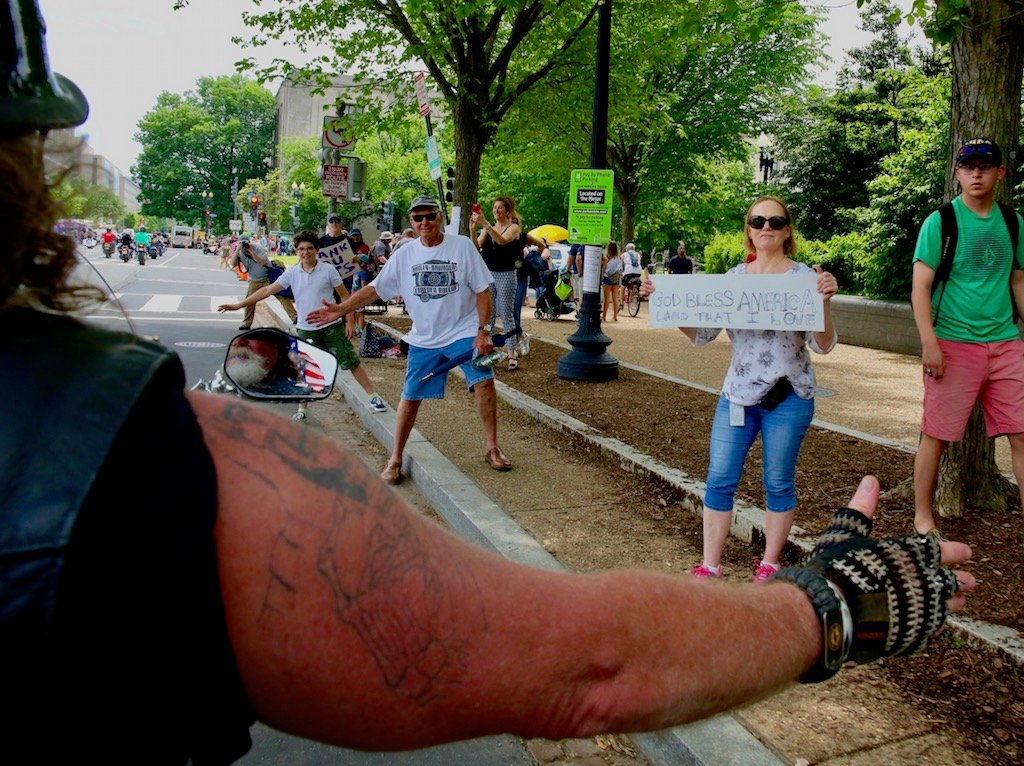 PHOTOS: We Rode Through DC With Rolling Thunder