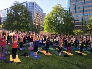 Here Are The Best Free Fitness Classes Around DC This Week: May 29-June 3