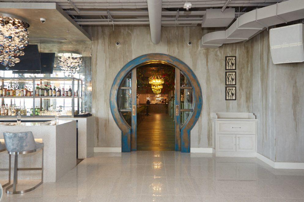 The Wharf's Opulent New Waterfront Restaurant Feels Like a Mediterranean Villa