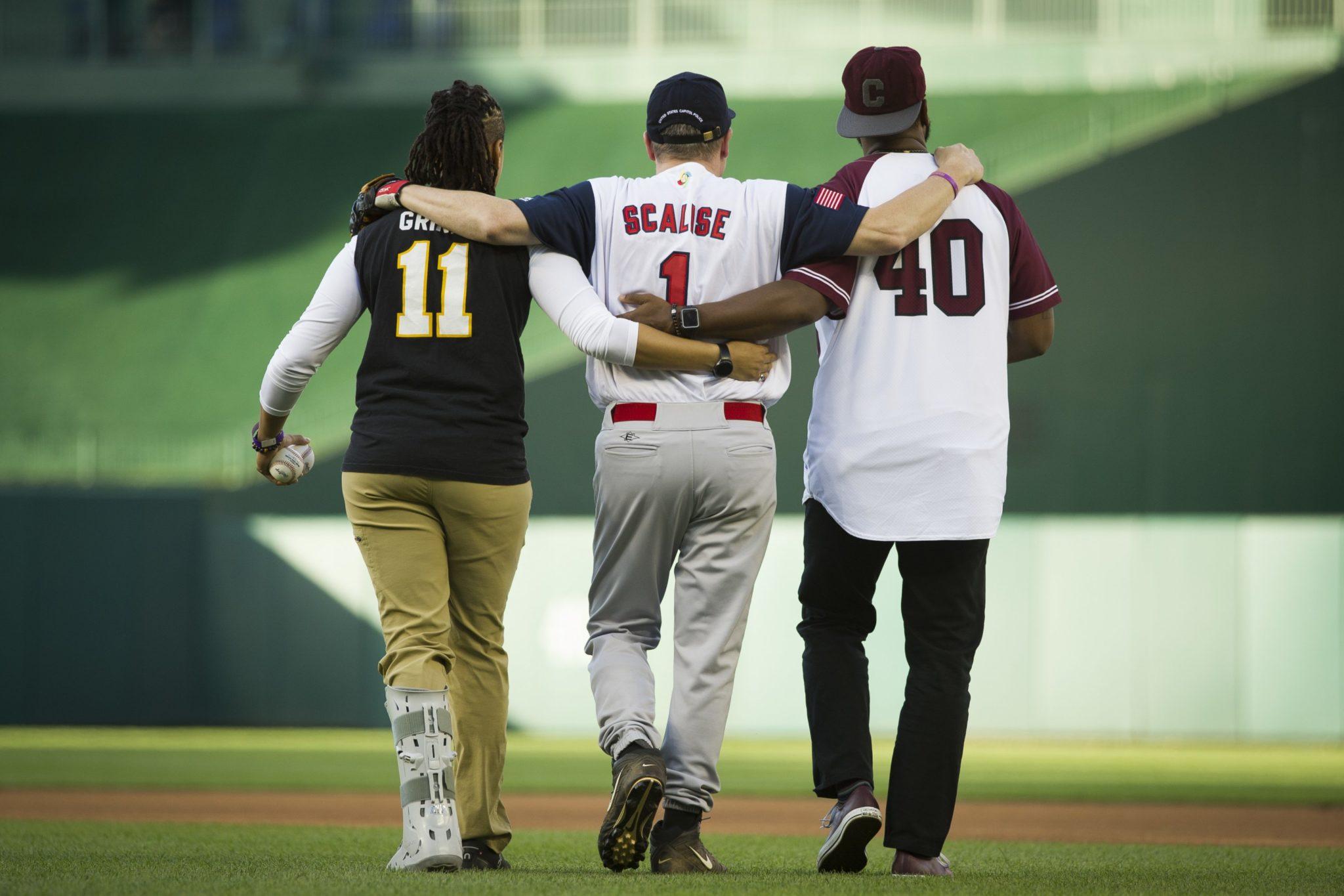 Congressional Baseball Game Scalise