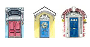 How Many Neighborhoods Are There in DC? Ask the Artist Who's Committed to Painting a Door in Almost Every Single One