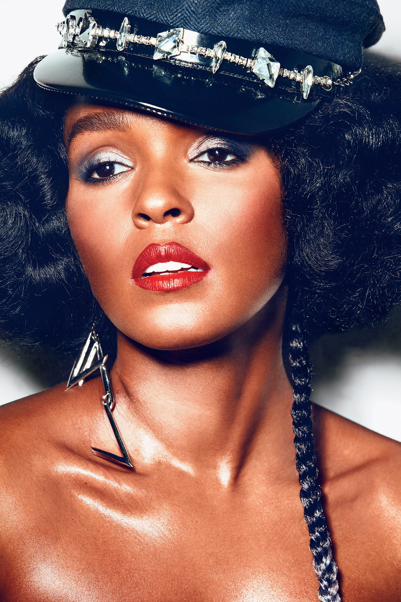 Photograph of Janelle Monáe courtesy of Atlantic Records.