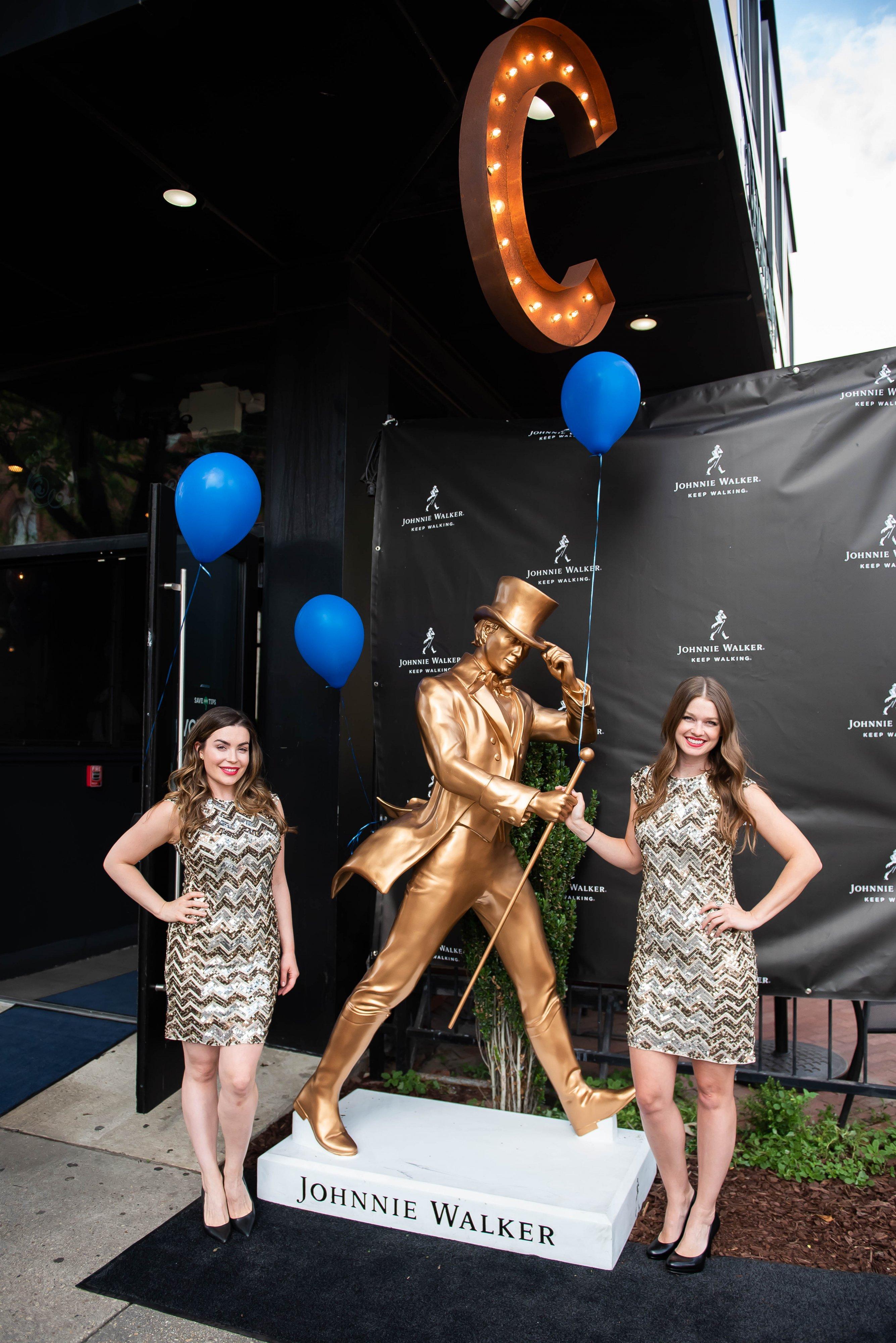 Photos: Johnnie Walker Keep Walking Statue Reveal