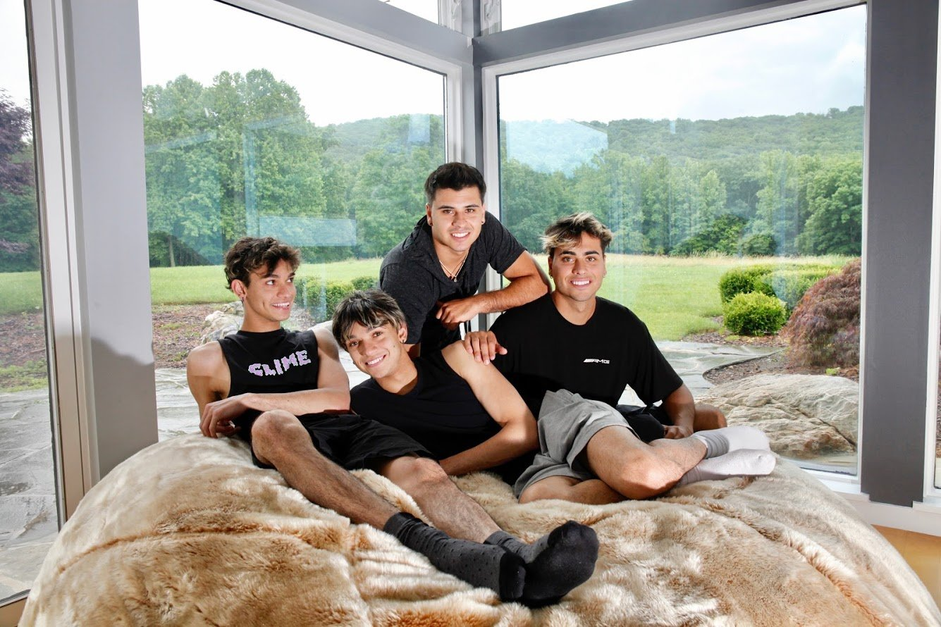 The Dobre brothers say they average about 10 million views a day. All photographs by Evy Mages.