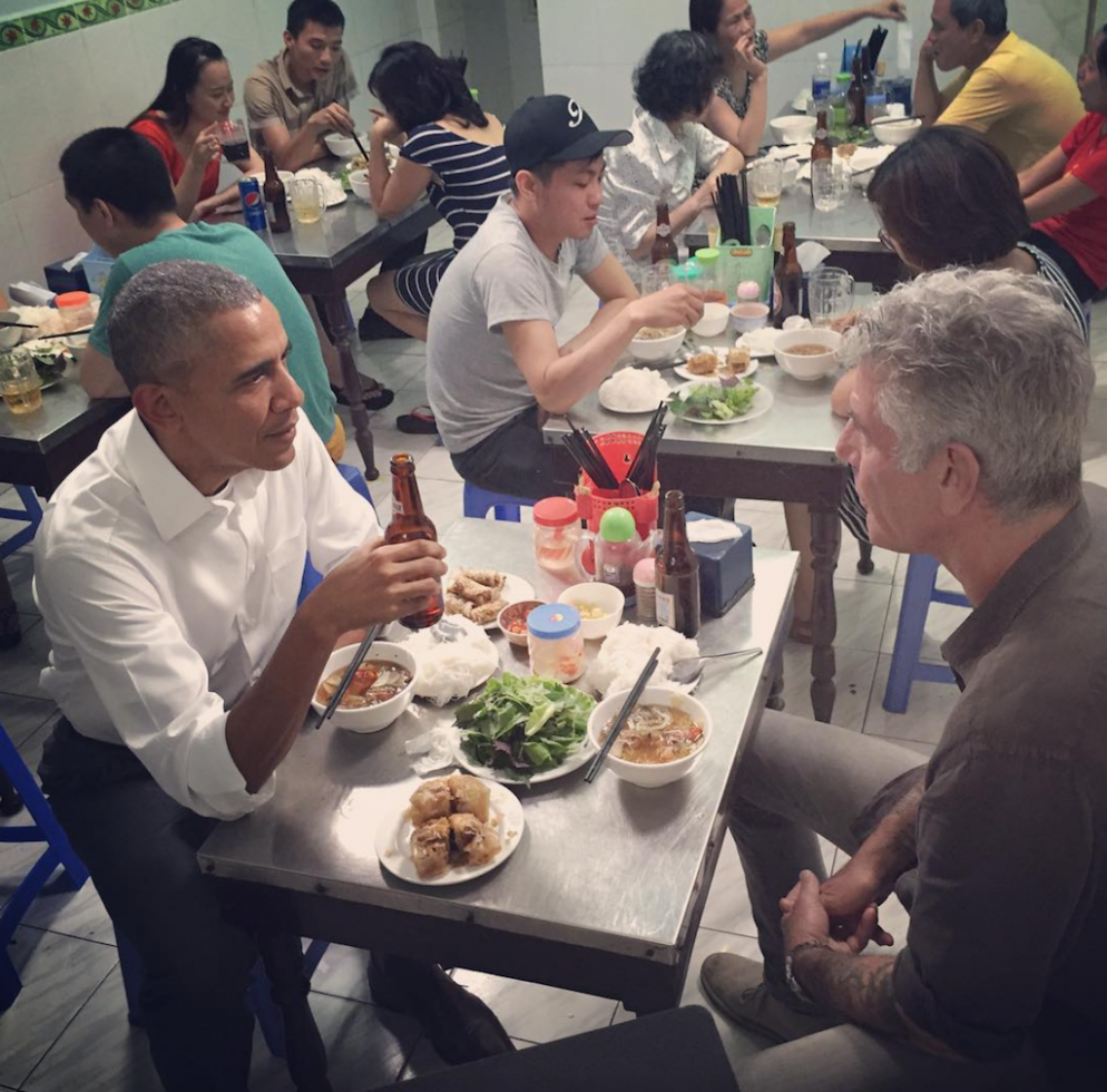 DC Chefs (and Barack Obama) Remember Anthony Bourdain