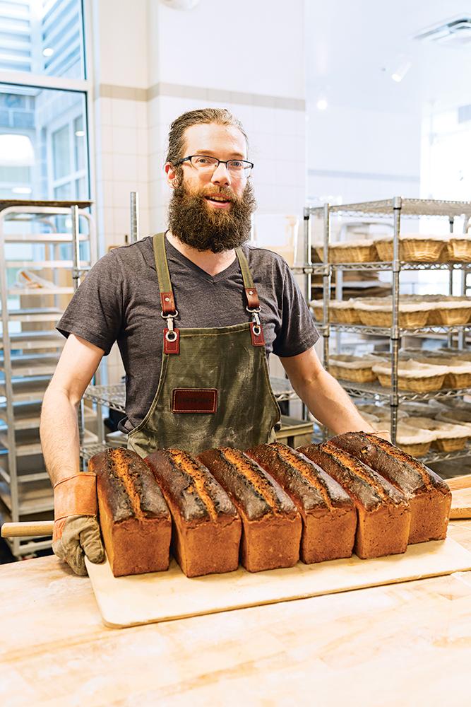 Seylou Bakery & Mill's Jonathan Bethony.