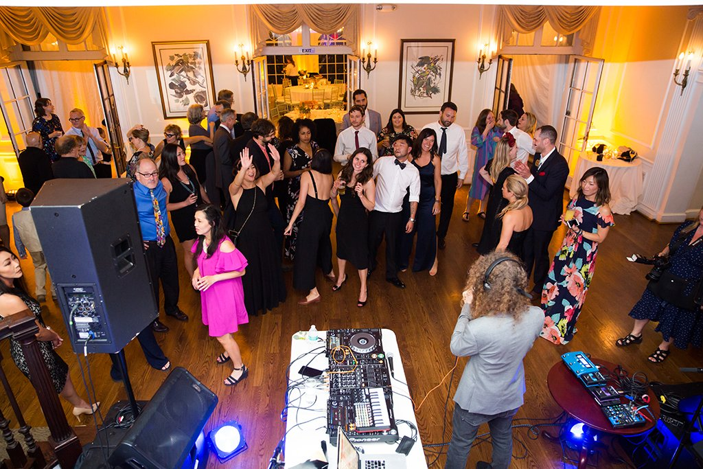 Thievery Corporation's Rob Garza Officiated a Rock Star-Style Wedding in Chevy Chase images 30