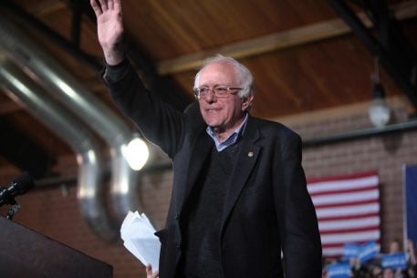 Anthony Kennedy's Resignation Cast a Shadow Over a DC Party. Then Bernie Sanders Showed Up