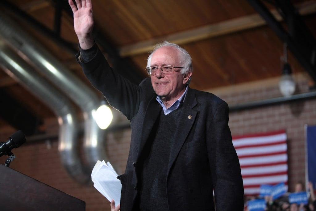 Bernie Sanders Washingtonian