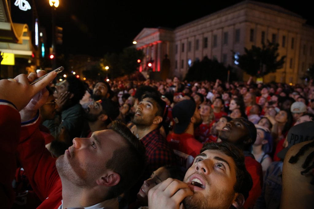 Capitals win DC celebration