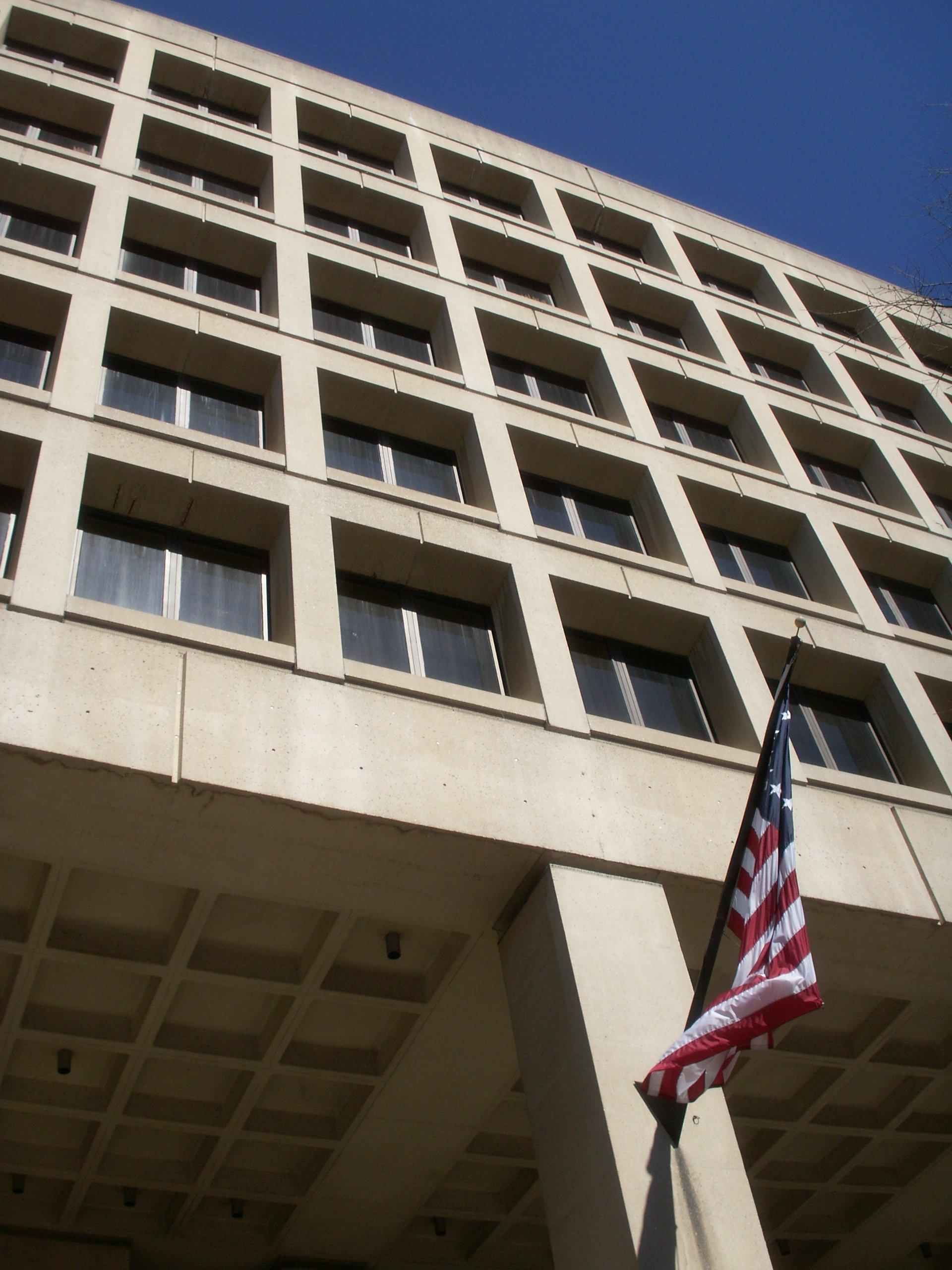 FBI Building Brutalism