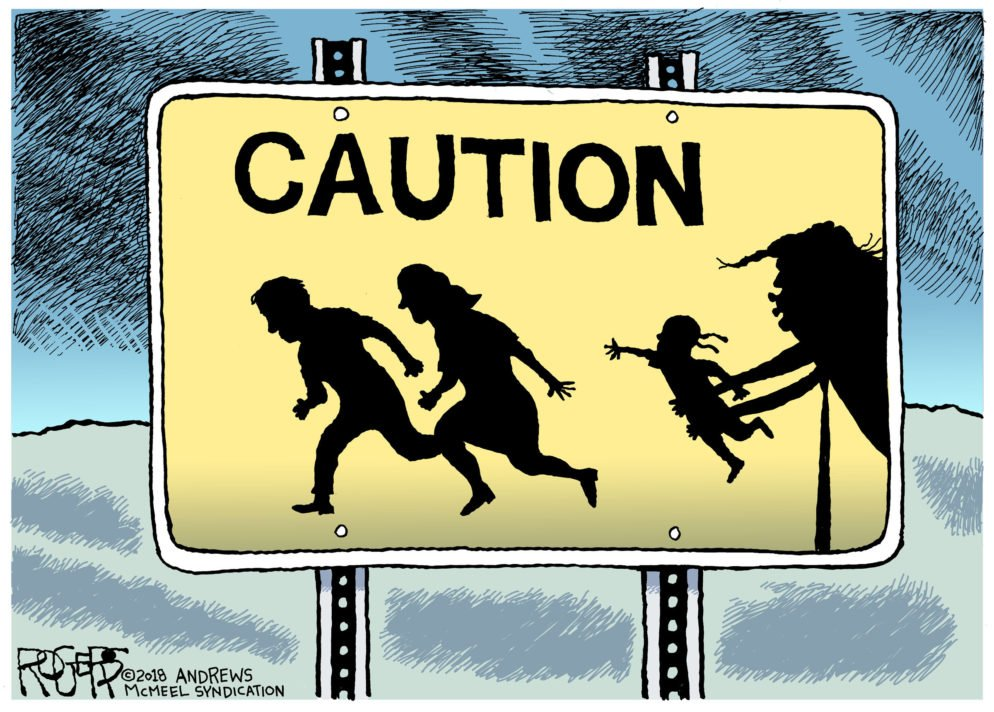 Here's How That Rob Rogers Trump-Cartoon Exhibit Happened So Quickly
