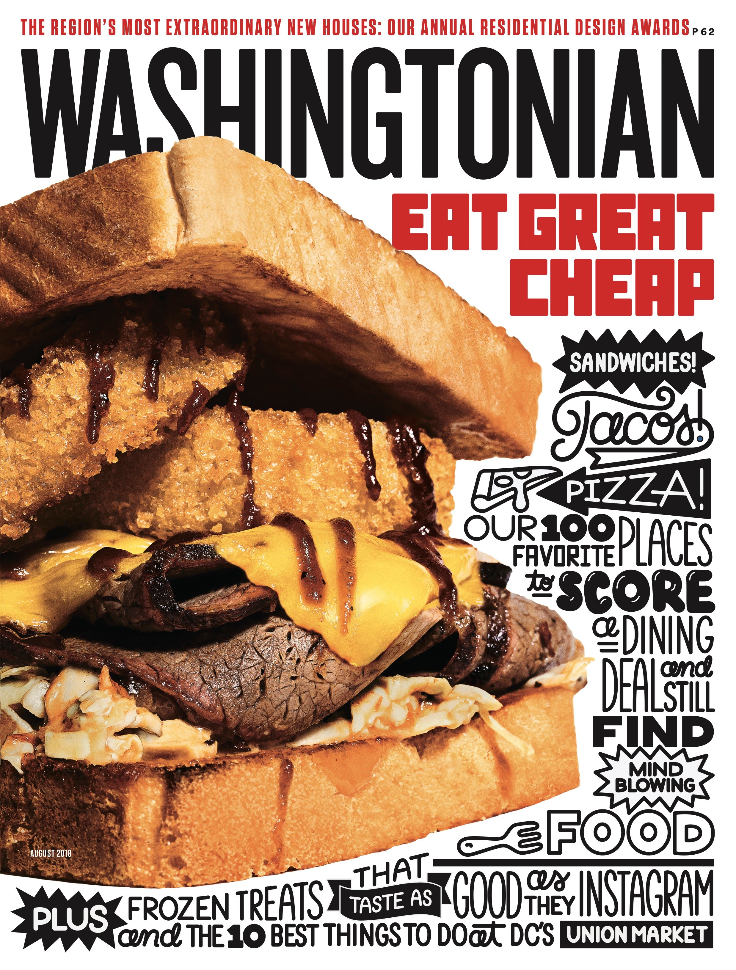 2018 Cheap Eats Washingtonian magazine