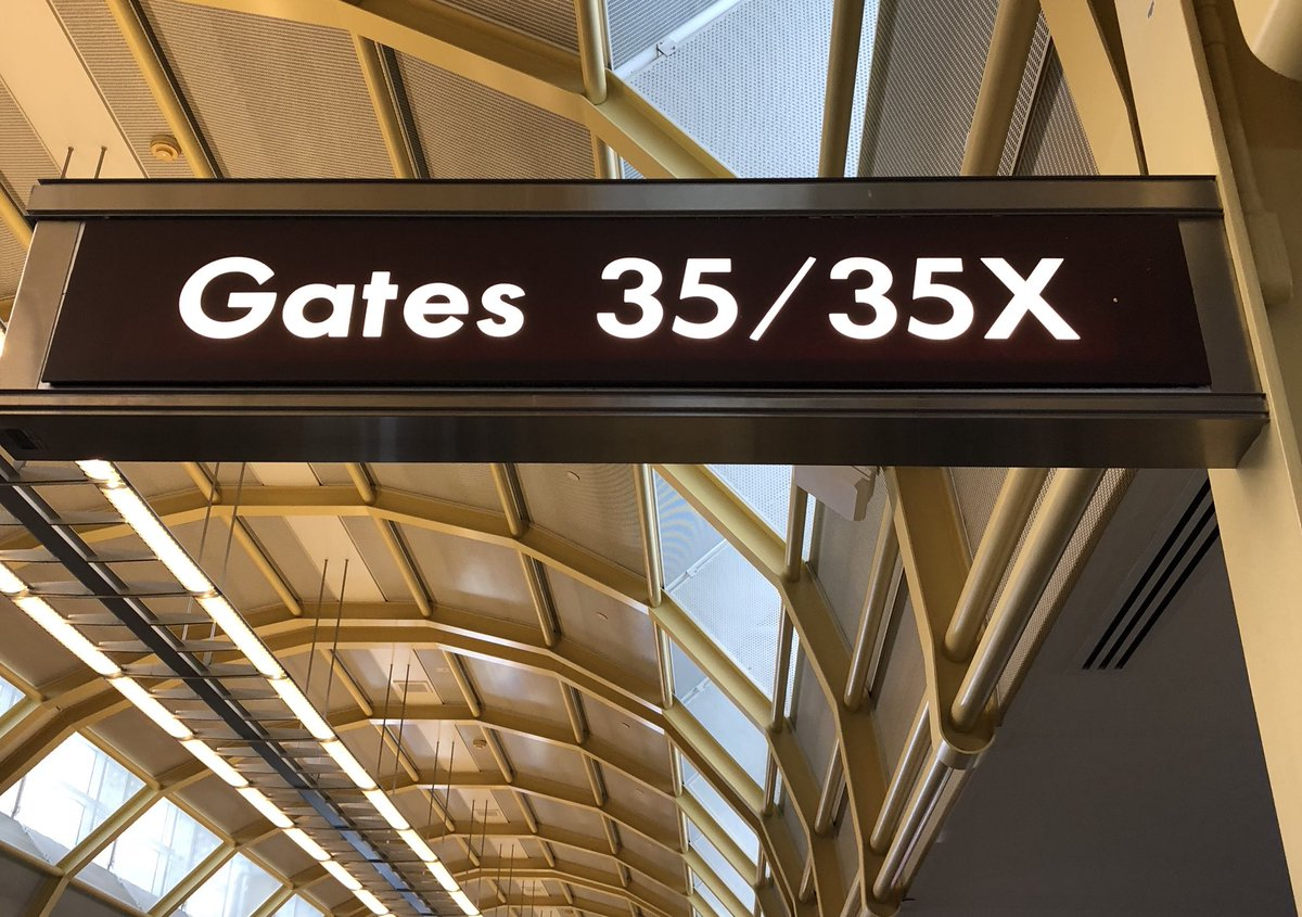 An Explainer of 35X, the Terrible Airport Gate Where Donald Trump Jr. and Robert Mueller Were Both Spotted