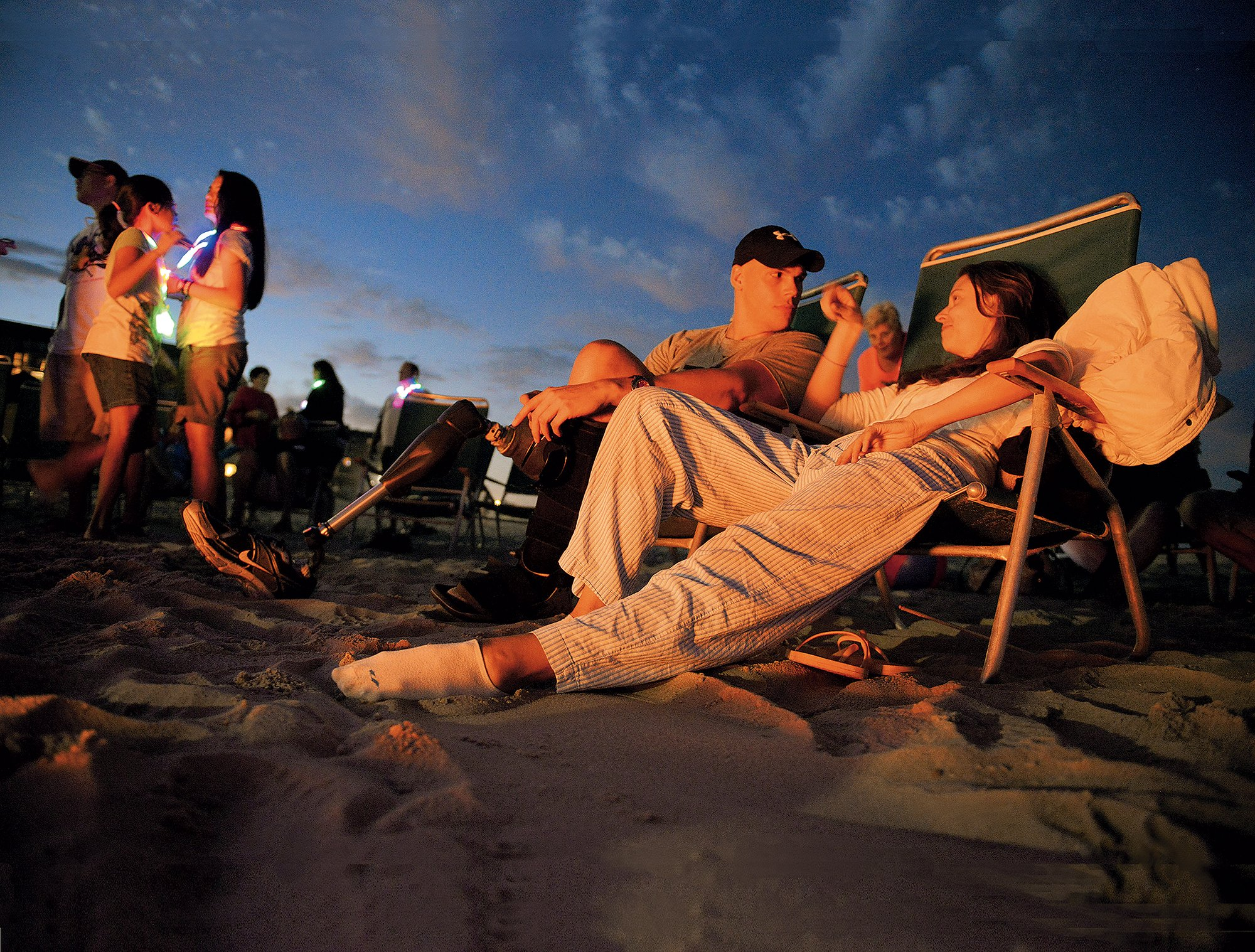 Family-Friendly Bethany offers lots of free evening Activities. Photograph by Bill O'Leary/Washington Post via Getty Images.