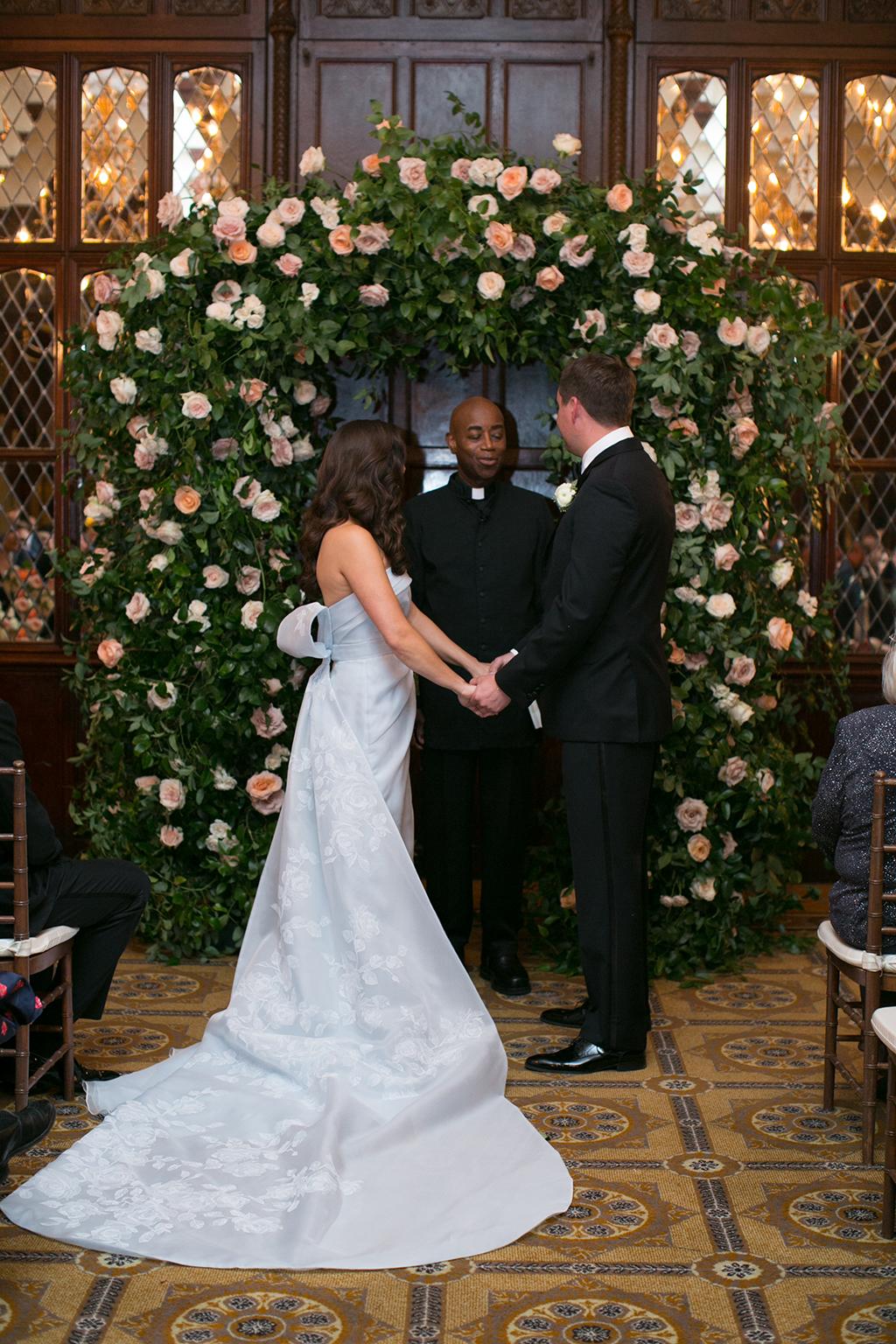 Who Says You Can T Wear A Blue Wedding Dress Washingtonian Dc