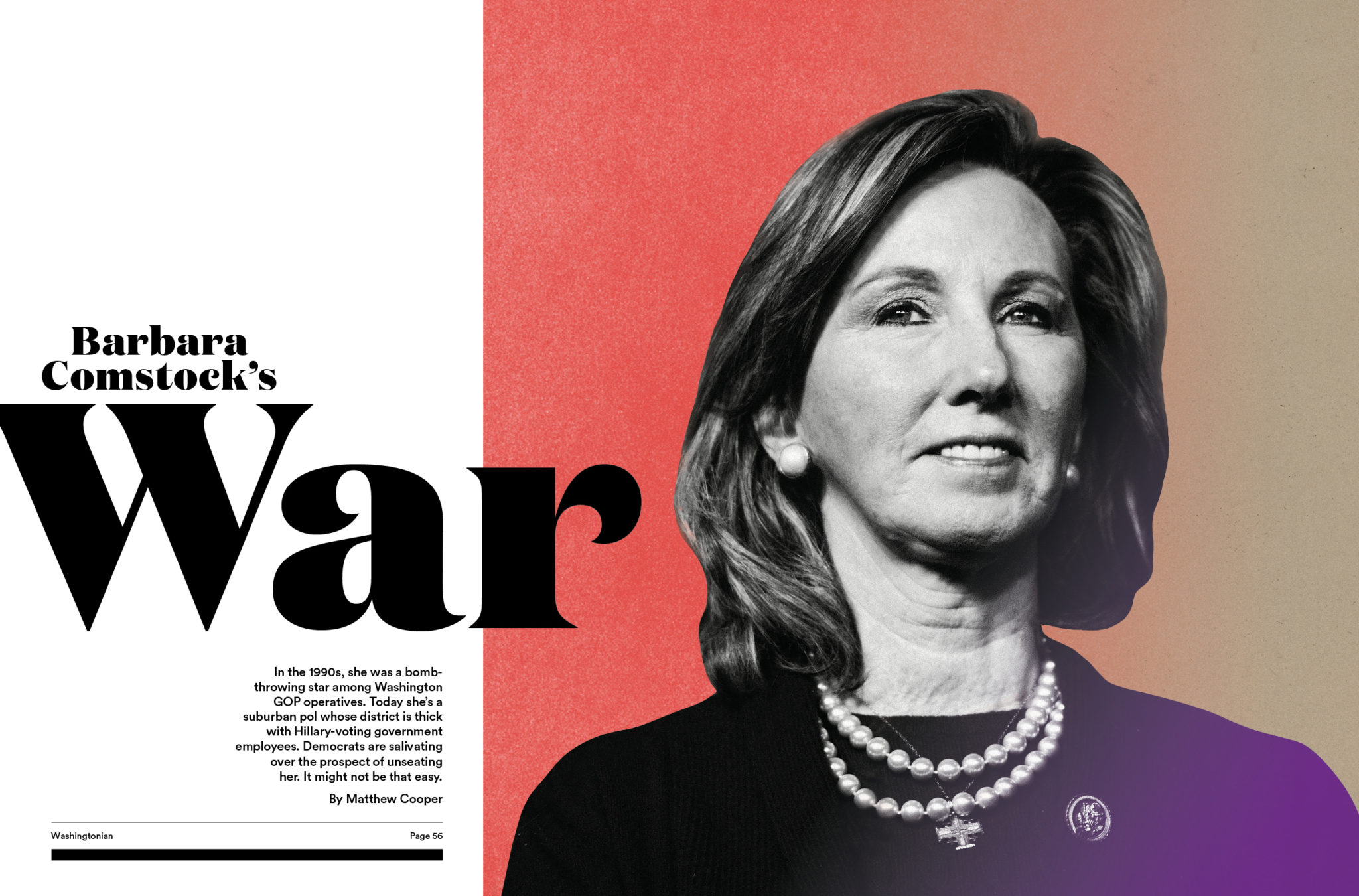 Democrats Are Salivating About Beating Barbara Comstock This Fall. It Might Not Be That Easy.