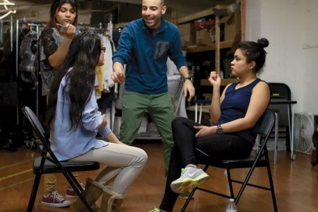 A Columbia Heights Theater Camp Helps DACA Recipients Tell Their Stories