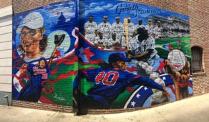 A New Mural on U Street Honors DC Baseball Legends