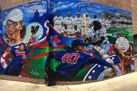 A New Mural on U Street Honors DC Baseball Legends