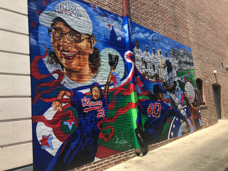A New Mural On U Street Honors Dc Baseball Legends Washingtonian