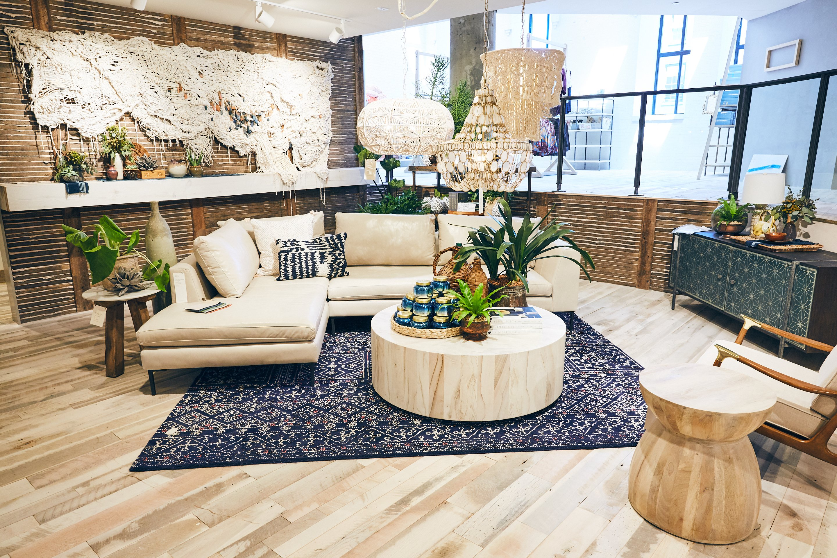 The New Anthropologie U0026 Co. Is Greatly Expanded From The Storeu0027s Former  Space On M Street. The Renovations Added A Third Floor To Create 15,000  Square Feet ...