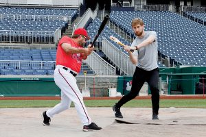 With the Home Run Derby Coming to DC, We Tried To Knock One Out of Nats Park