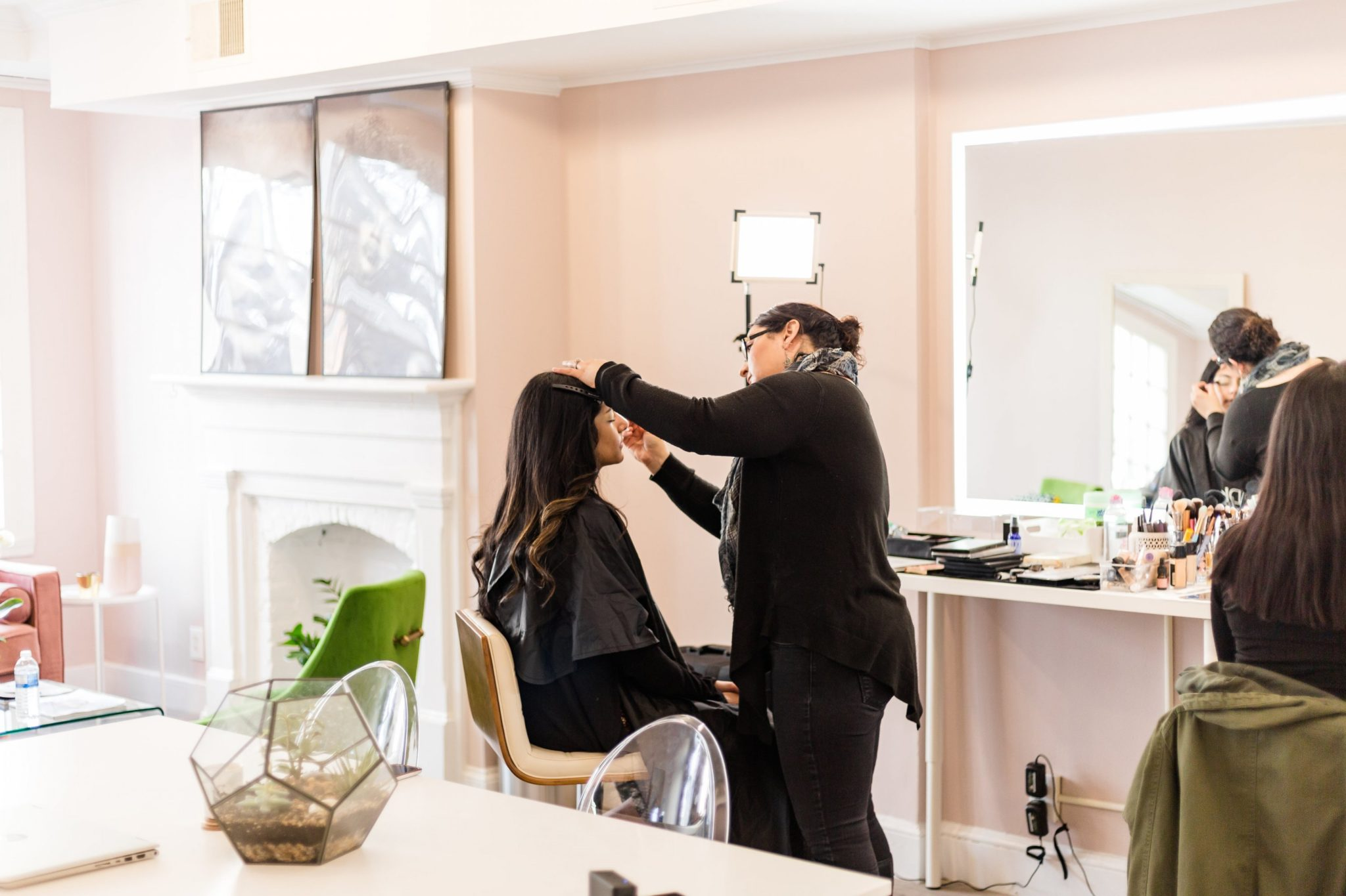 own your wonder inclusive makeup bar drybar for makeup kristina han makeup bar dc georgetown
