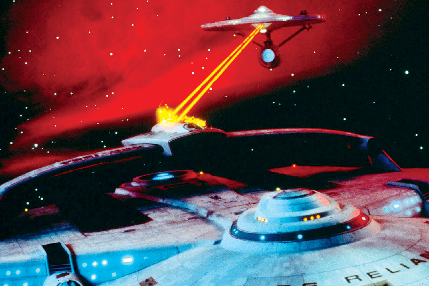 Film Still From Star Trek Ii: The Wrath Of Khan by Allstar/Cinetext/PARAMOUNT.