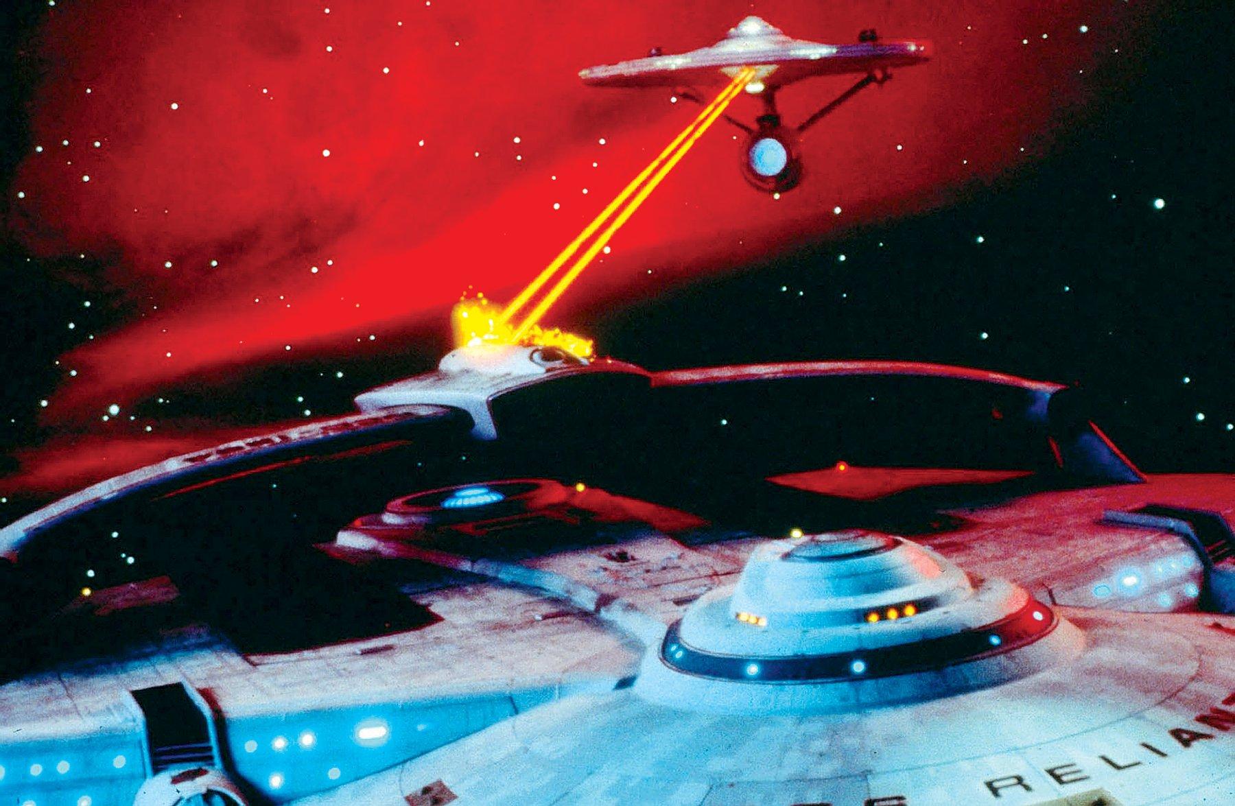 Film still from Star Trek Ii: The Wrath Of Khan by Allstar/Cinetext/PARAMOUNT.