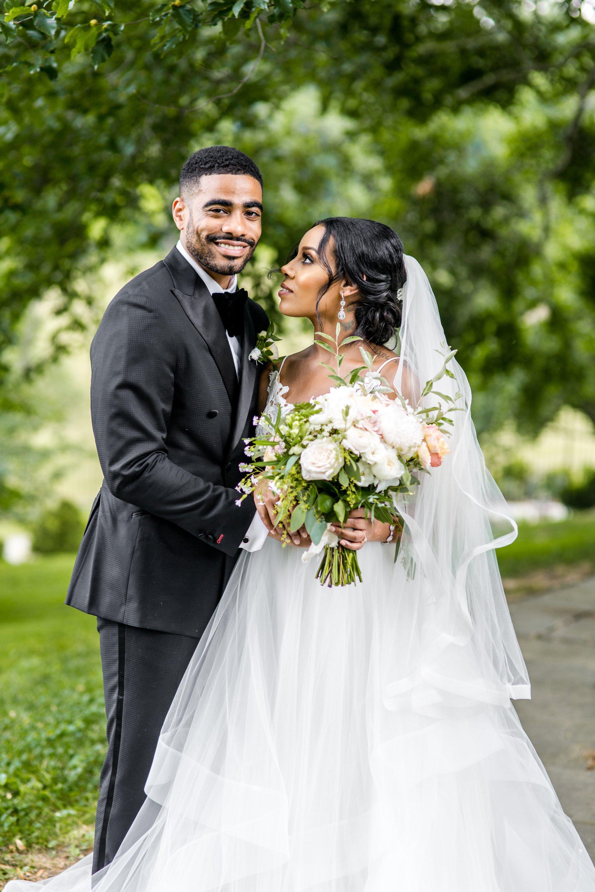 c7f2f24b47 Meron Kassahun and Reshad Favors s Glamorous Summer Wedding