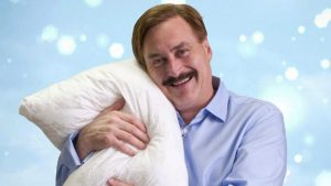 Spotted at the Trump Hotel: The MyPillow Guy
