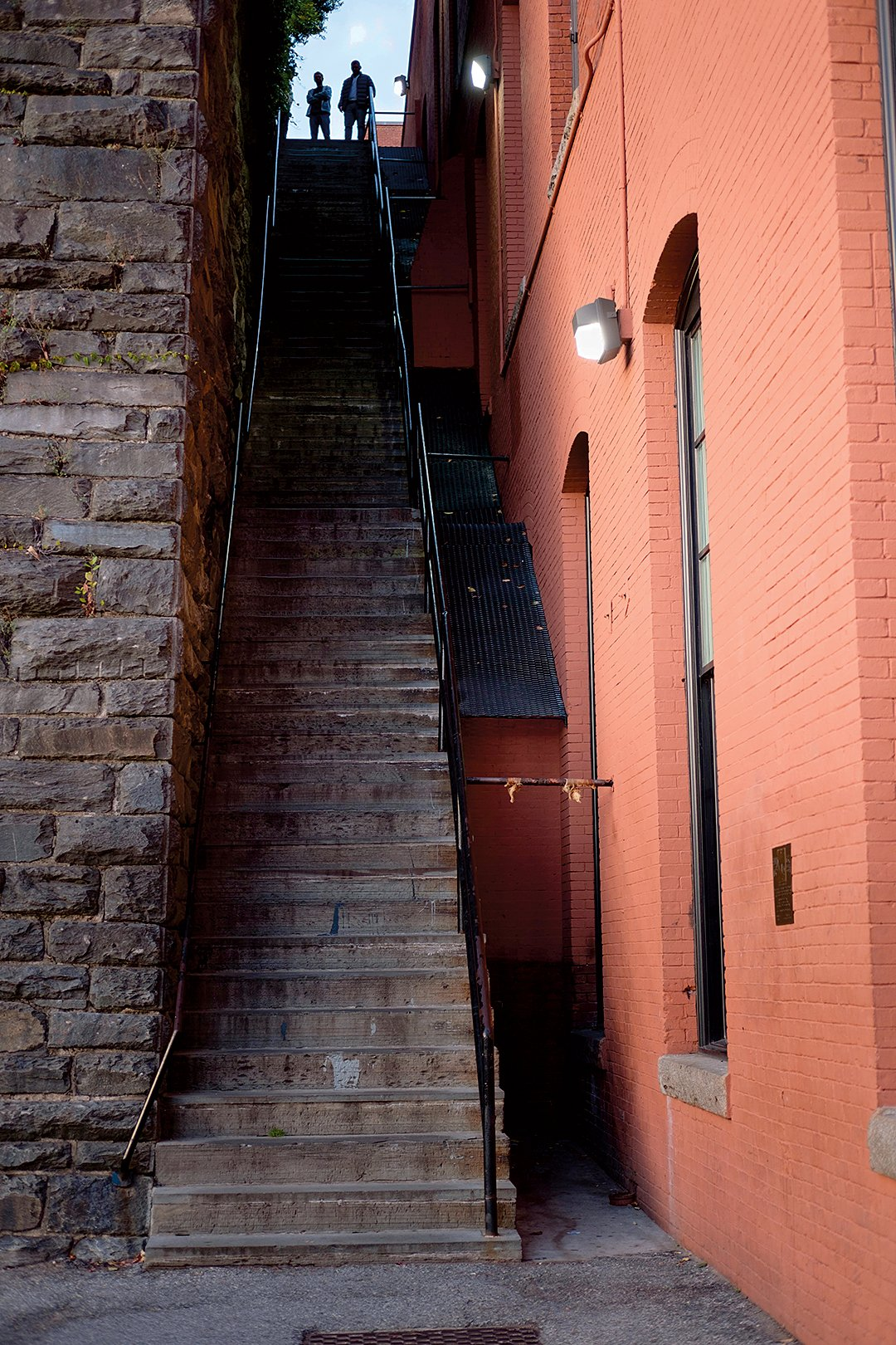 DC's Scariest Workout: The so-called Exorcist Steps, steep and storied. Photograph by Rubens Alarcon/Alamy.