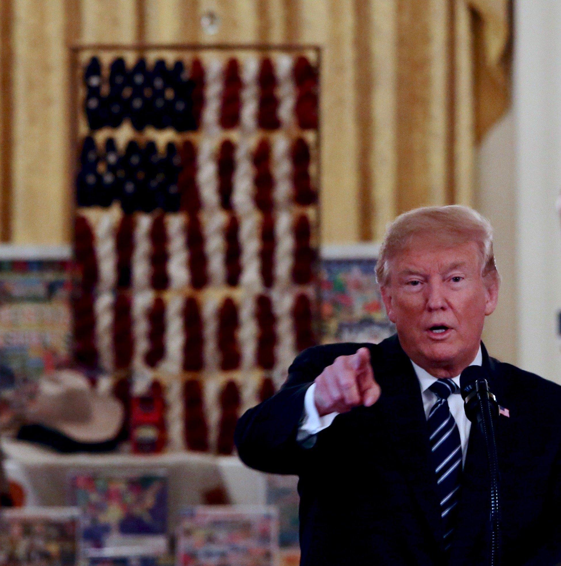 Trump made in america event