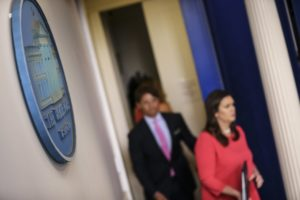 How White House Reporters Are Doing Their Jobs in a Summer With Few Briefings
