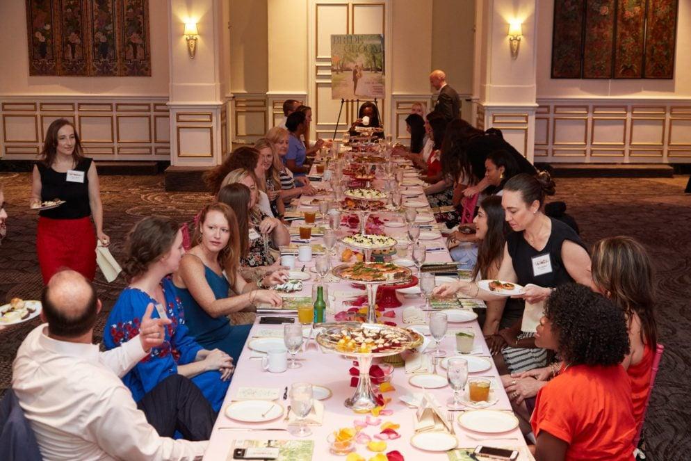 Photos: Washingtonian Bride & Groom Afternoon Tea