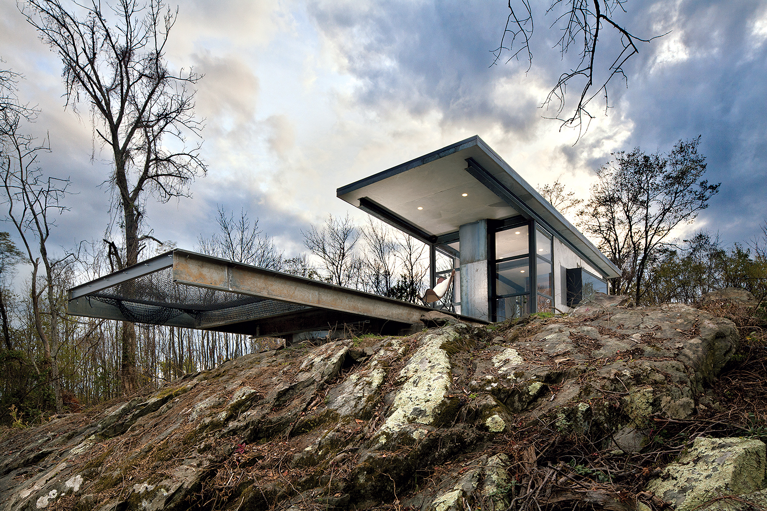 Photographs of Back to Nature house by Mitch Allen.