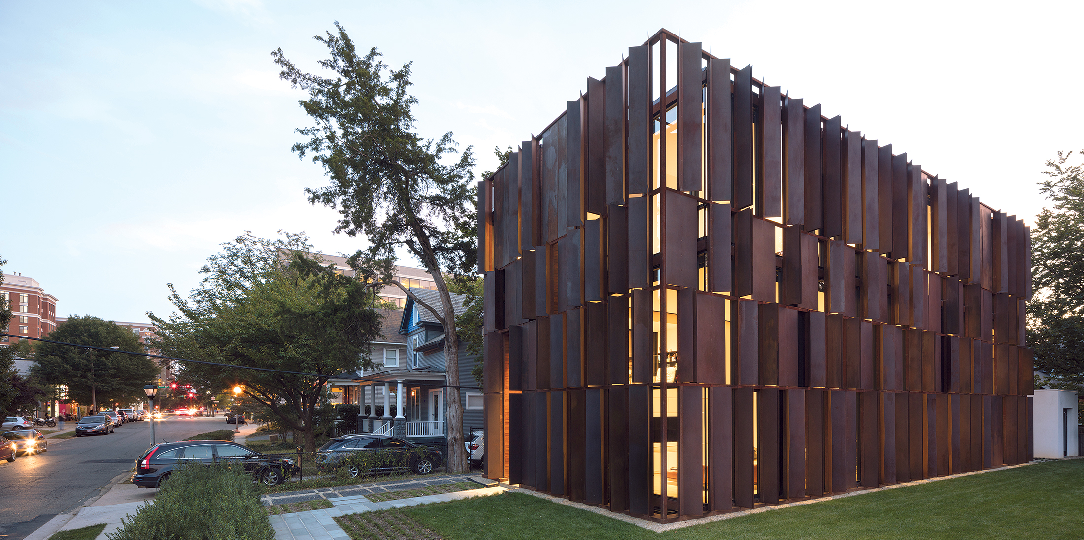 Photographs of Metal Winner house by Paul Warchol.