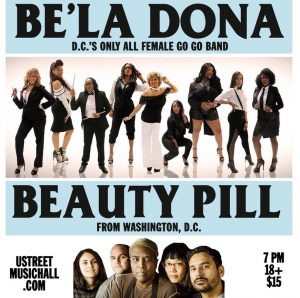Be'la Dona and Beauty Pill Team Up to Bring Go-Go Back to U Street