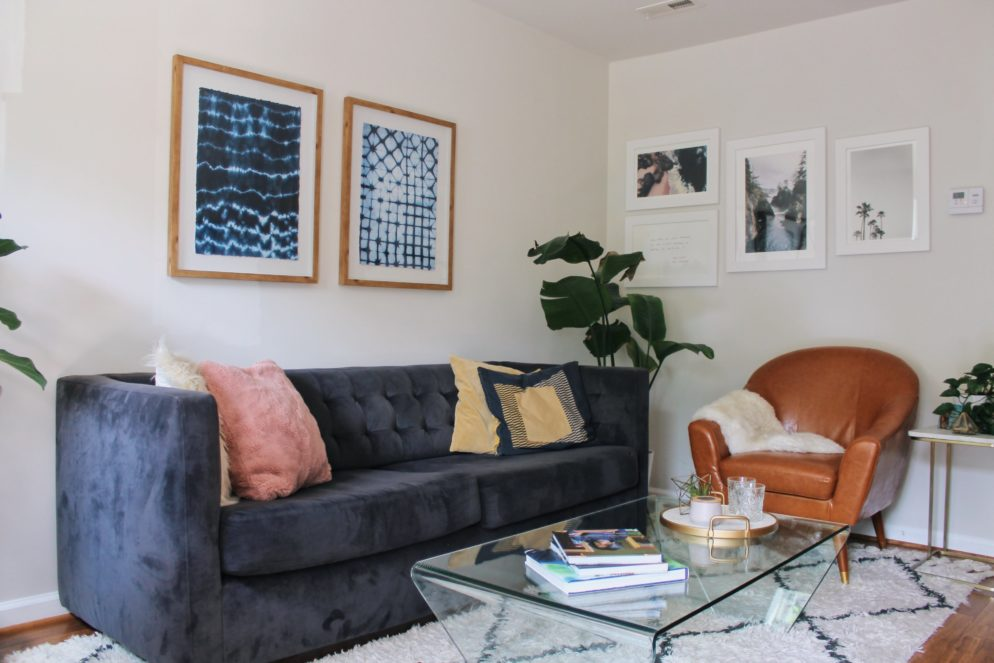 Look Inside My Home: A Stylish DC Apartment Full of Secondhand Finds
