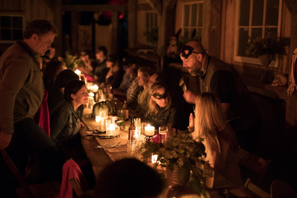 Deadly Dinners at Markoff's Haunted Forest