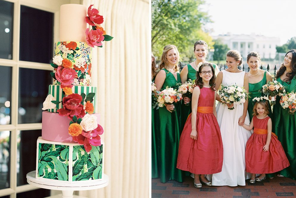 Fans of Bold Preppy Design will Be Obsessed with this Greenbrier-Inspired Wedding
