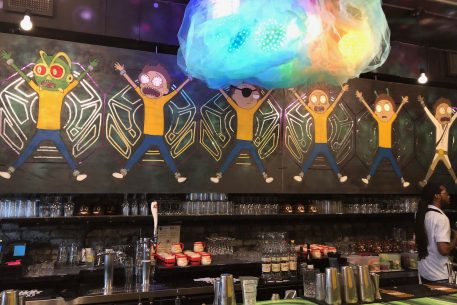 Here's Every Show Reference You Can Find at DC's Rick and Morty Pop-Up Bar