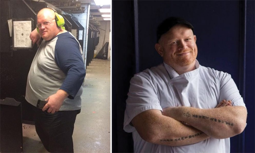 How I Got This Body: Kirwan's Executive Chef Declan Horgan Shares How He Lost Nearly 150 Pounds and Beat Type 2 Diabetes