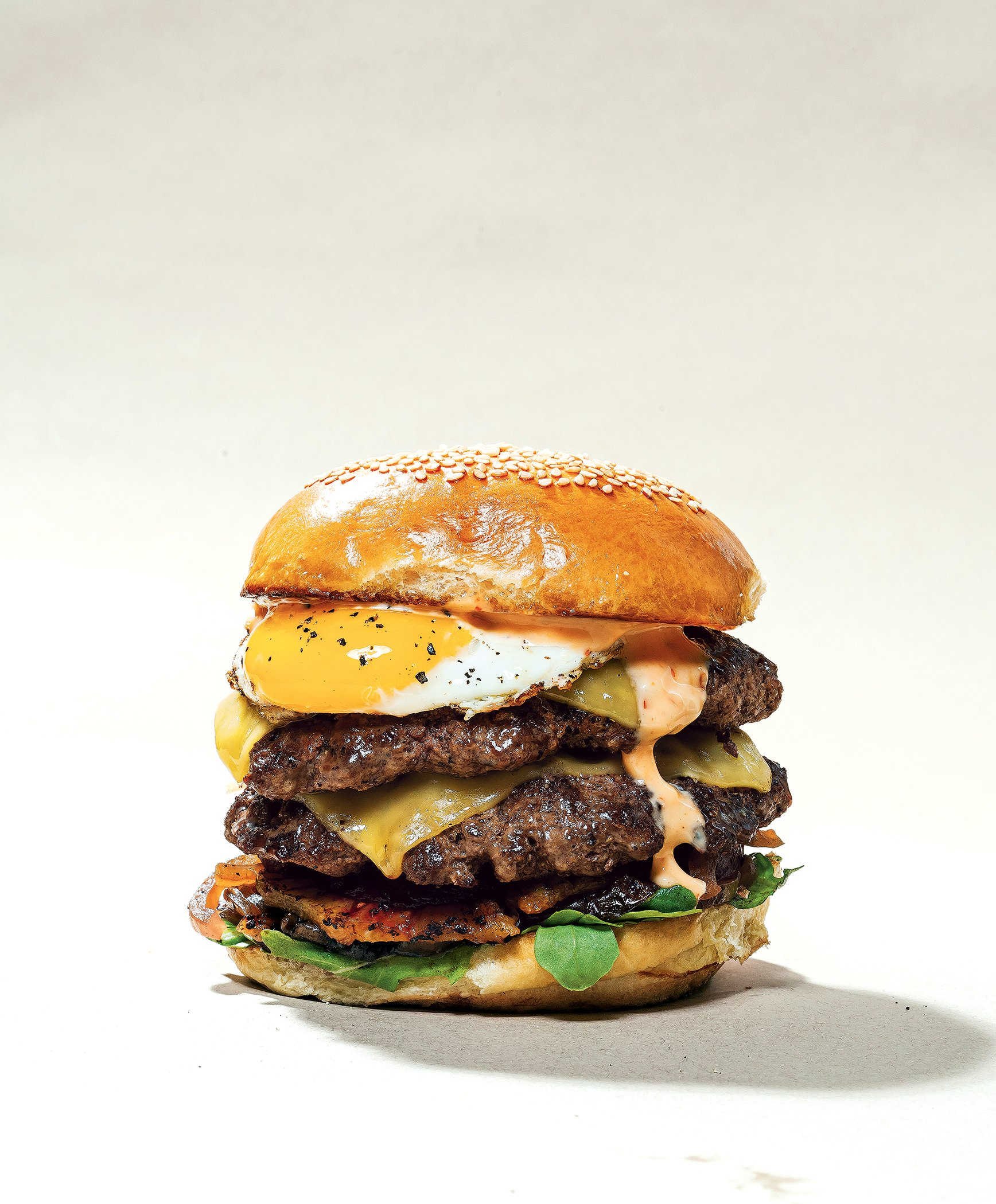 """""""Alfie's Bun"""" at Lucky Buns. Photograph by Scott Suchman. Food styling by Nicole Bryant at The Artist Agency."""