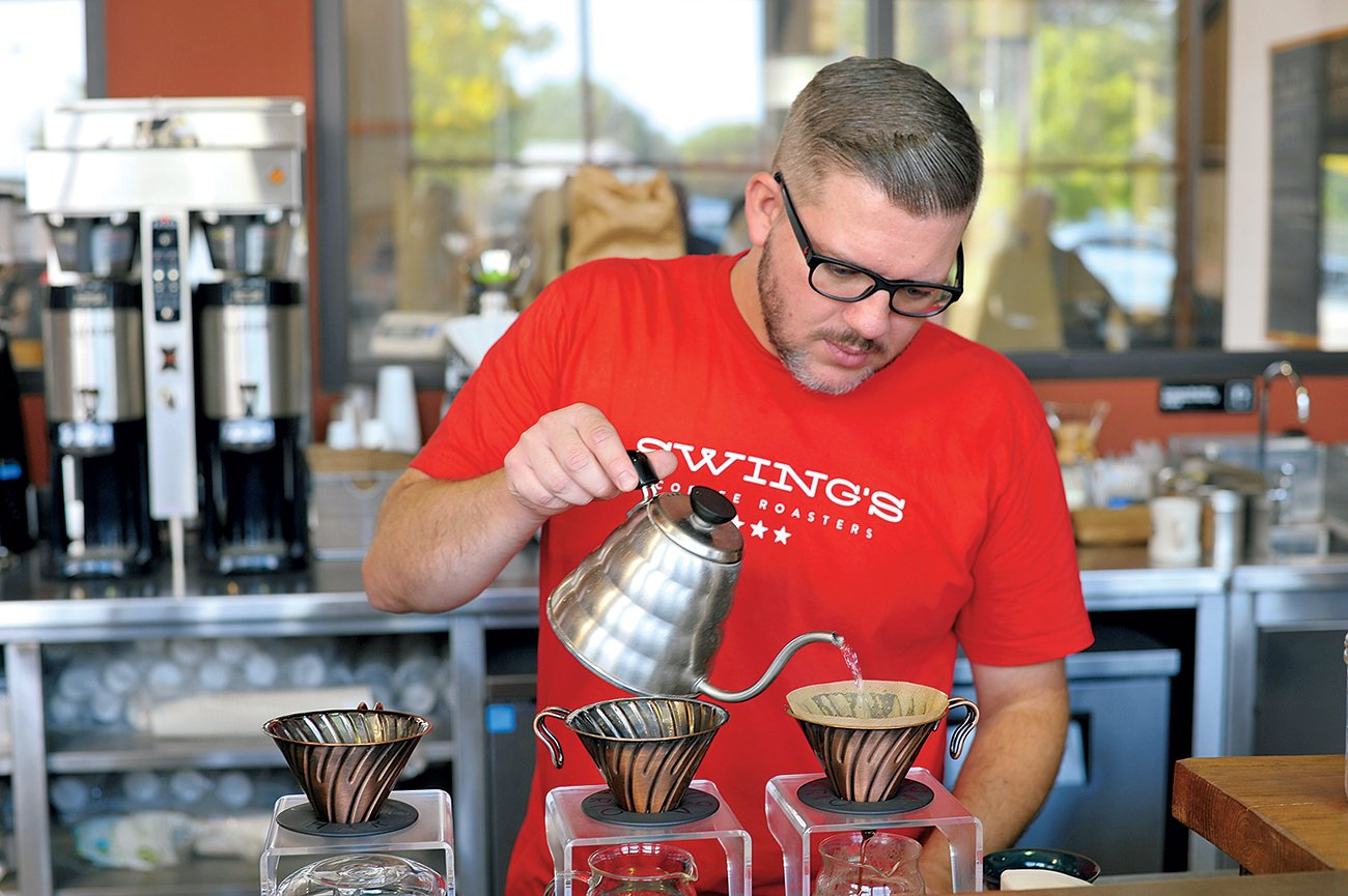 Swing's Coffee Roasters. Photograph Courtesy of Swing's Coffee Roasters.